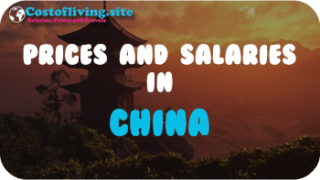 cost of living China
