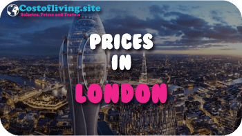 cost of living London
