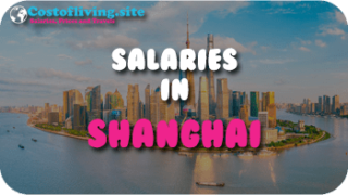 cost of living Shanghai